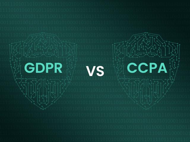 CCPA vs GDPR Comparision - vendor contract management