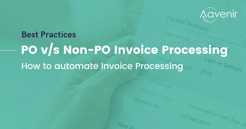 PO vs Non-PO Invoice Approval Workflow Automated Invoice Processing on ServiceNow Aavenir Invoiceflow