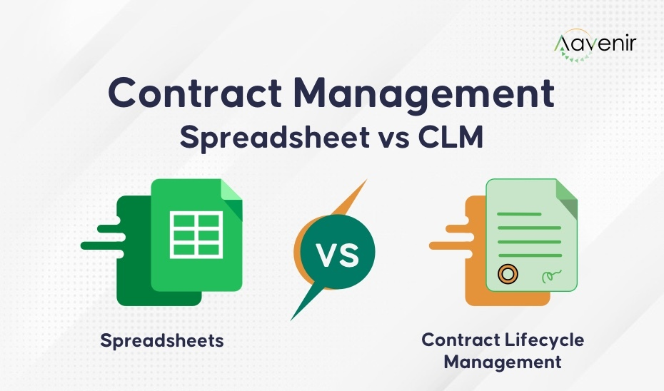 Managing contracts in excel vs CLM