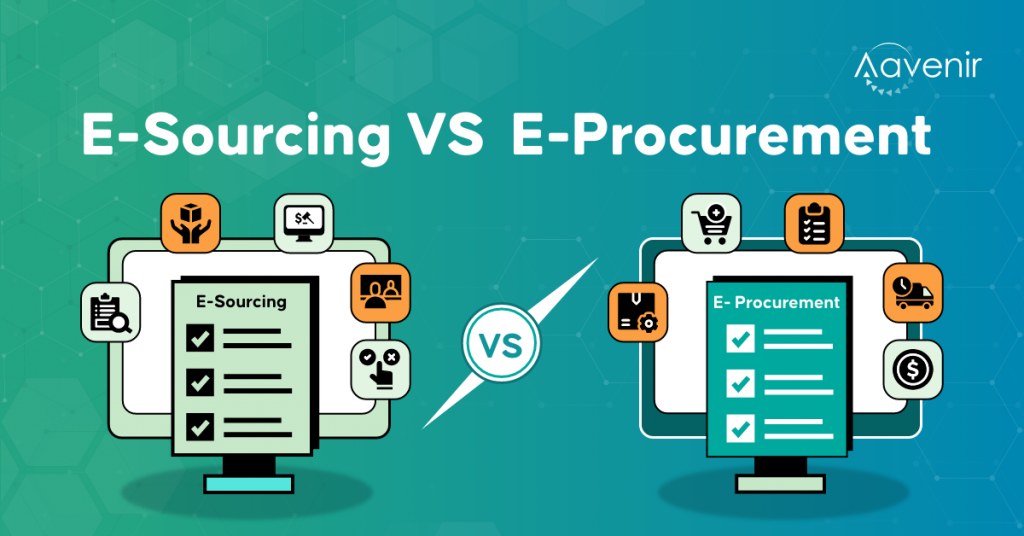 esourcing vs eprocurement