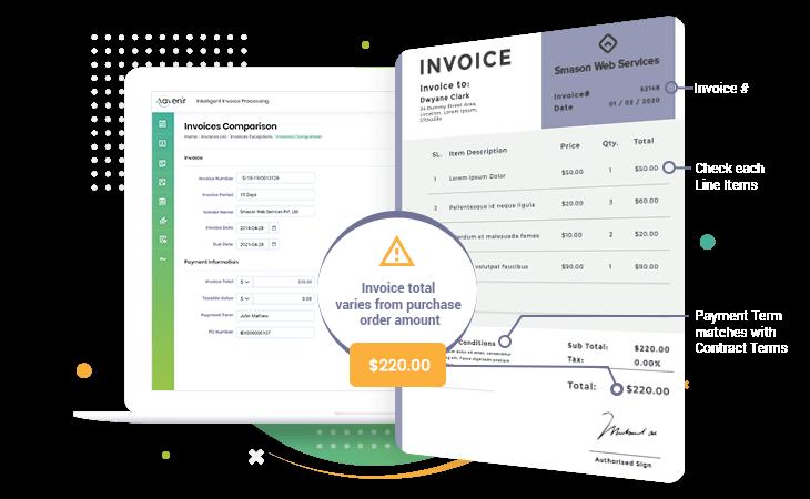 Invoice Management Aavenir